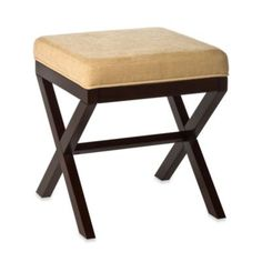 "Buy Hillsdale Morgan ""X"" Backless Vanity Stool from Bed Bath & Beyond $99"