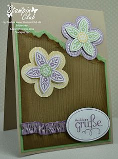 Stampin' Up! - Triple Treat Flower