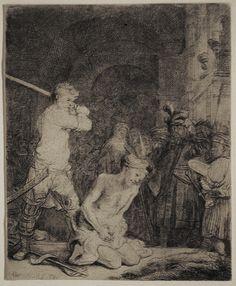 Old Master Prints: Rembrandt van Rijn (Dutch, 1606-1669)