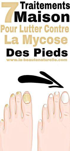 7 traitements maison pour lutter contre la mycose des pieds #mycose #pieds