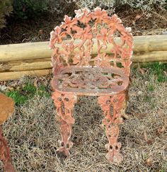 Outdoor Patio Furniture, Grape Pattern Chair