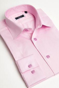 Pink italian dress shirt for men by Franck Michel