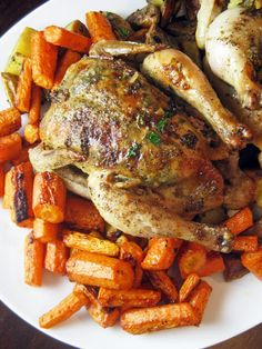 Herb Roasted Cornish Game Hens Recipe