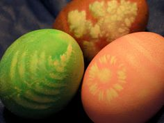 natural way dyed eggs