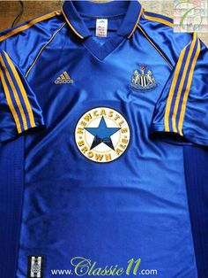Relive Newcastle United's 1998/1999 season with this vintage Adidas away football shirt.