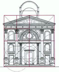 S. Andrea - Mântua (1472) fachada, composição simétrica, combinação de arco triunfal com frente de templo. renascimento primitivo italiano.