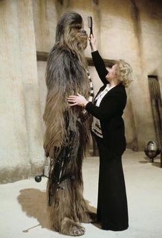 Star Wars:: behind the scenes (74 pics)