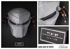 Dark Side of Paper Predator : Yautja , Hunter  Monsieur Oscar www.monsieuroscar.com