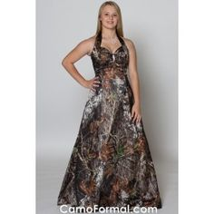 blue and camo wedding dresses | camouflage Prom dress with ...