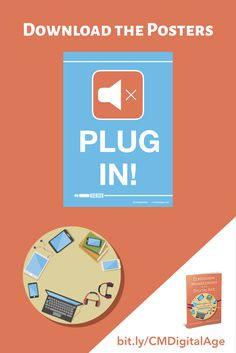We ask students in our one to one program to respect others by always plugging in their headphones in when listening to audio. Download the free posters from our book, Classroom Management in the Digital Age. When you have clear expectations for student behaviour, you maximize learning for all.