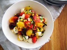 Tomato Corn Salad recipe for Anthologymag.com