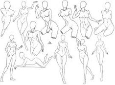51 Ideas For Drawing Poses Female Seductive Female Drawing Poses, Drawing Female Body, Body Reference Drawing, Anime Poses Reference, Anime Poses Female, Sketch Poses, Poses References, Art Poses, Anatomy Art