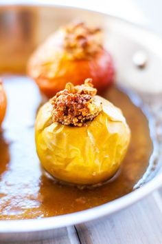 Quinoa Baked Apples from Cooking Quinoa