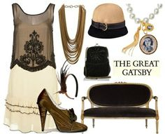 The Great Gatsby Party Ideas from shopstyle.com Featured @ www.partyz.co your party planning search engine!