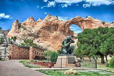 National Navajo Code Talkers Memorial Window Rock, Arizona