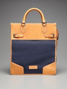 Moe Canvas Tall Tote by Ben Minkoff on Gilt. AMAZING price!! But alas.... : (