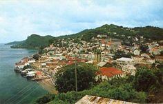 St. George's, Grenada circa 1970