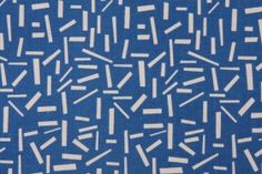 Premier Prints Sprinkles Printed Cotton Drapery Fabric in Arctic Blue Natural $7.48 per yard