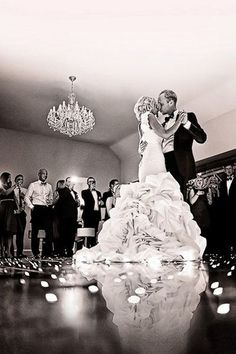 A Low Angle During Your First Dance... Interesting perspective