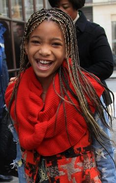 Willow Smith rocks a braided hairstyle