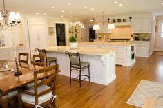 Ultimate Chef's Kitchen with a Double Island