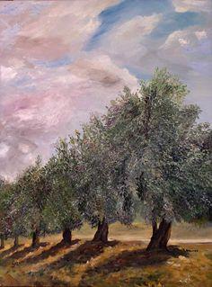 Yaffa Wainer - Olive trees at Beit Jamal Israel