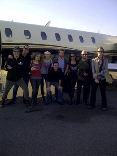 """Unless you been under a rock I should have to tell you who this is in picture ! David Draiman and some other """"ROCKSTARS"""". David and wife wearing MILIFIDEL , paying homage to our Military ! David is wearing """"EMBLAZEONED"""" wife Lena wearing ASH"""