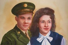 EBSQ AOTD 06/19/2013: Frank and Rita SOLD by Kathy Haney