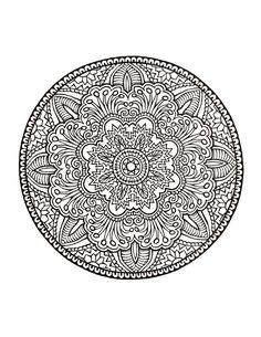 Expert Mandala Coloring Pages - Bing Images