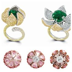 Glenn Spiro. When I was in London I went to Harrods and tried these delightful rings on and fell in love!!! They are opening in New York soon. On the Razzle Dazzle dream board! Spectacular design!!!