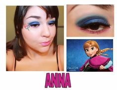 The Dark Side of Beauty: Disney Series: Anna (Frozen) using WNW Lights, Camera, Action palette.