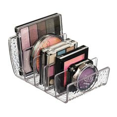 This versatile InterDesign Rain Cosmetic Palette Organizer and Beauty Product Holder can organize your space from bathroom counter tops to salon vanities. It's 5 easy-to-clean compartments can hold various eye shadows and foundation palettes. Cheap Countertops, Formica Countertops, Butcher Block Countertops, Bathroom Countertops, Vanity Countertop, Butcher Blocks, Makeup Storage Trays, Makeup Organization, Organization Store