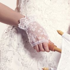 Wonderful wedding gloves made of lace. Available in two colours: white and light blue. Lace Weddings, Wedding Lace, Wedding Gloves, Fingerless Gloves, Light Blue, Amazon Sale, Colours, Austria, Tops