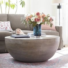 For a more contemporary global vibe, we offer the Tahiti drum cocktail and round lamp tables. Tahiti takes on a sculptural quality, with simple spherica. Drum Coffee Table, Drum Table, Invitation Pop Up, Couch Set, Clear Lake, Decorating Coffee Tables, Dining Room Sets, New Living Room, Cocktail Tables