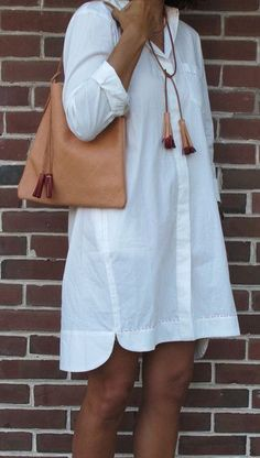 Fashion shirt dresses - Patterns and molds – Outfit Fashion - Best Fashion, Outfits & Trends Ideas Simple Fall Outfits, Fall Fashion Outfits, Chic Outfits, Fashion Tips, Fashion Hacks, Womens Fashion, Autumn Fashion Grunge, Shirt Dress Pattern, Vegetable Leather