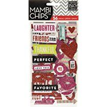Me & My Big Ideas Plastic Chipboard Value Pack-You and Me