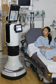 Robot for hospitals. iRobot Shares Spike; Gets FDA Approval On Hospital Robot