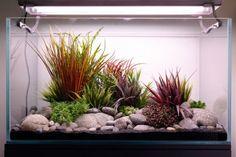 High-end artificial aquascape for fancy goldfish