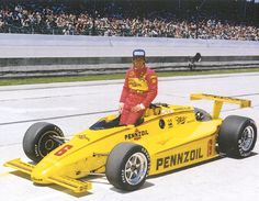 1984 Indy 500 Winner - Rick Mears - Pennzoil diecast car