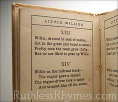 Little Willie Poems 3