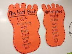 LA: Dr. Seuss (The Foot Book - Antonymns)