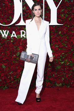 Allison Williams in DKNY and more best dressed celebrities from the Tony Awards 2016 red carpet.