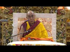 """Shantideva's """"Guide"""" - Day 1 am - Morning session of the first day of His Holiness the Dalai Lama's three day teaching on Shantideva's """"A Guide to the Bodhisattva's Way of LIfe"""" given at the Main Tibetan Temple in Dharamsala, India, on September 4-6, 2012."""