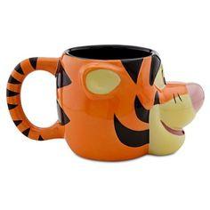 Tigger mug (Disney Store 25th anniversary)