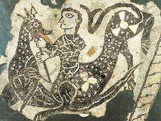 Mosaico pavimentale, XII secolo, dalla Cattedrale di Reggio Emilia, Museo Civico, Reggio Emilia