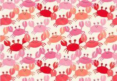 Voici une illustration d'une colonie de petits crabes en déclinaisons de couleurs de couchers de soleil. Parfait pour un projet estival!  Nous vous attendons au Crackpot Café pour vous conseiller sur votre prochain projet de peinture sur céramique ou encore pour vous servir de délicieux breuvages!