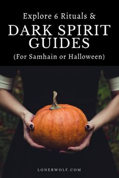 6 Samhain Rituals and Dark Spirit Guides (for Halloween) ⋆ LonerWolf - - Halloween (Samhain) has a much deeper significance than dressing up or trick-or-treating. Read about 6 Samhain rituals and guides for your personal healing. Halloween Tags, Samhain Halloween, Halloween Decorations, Samhain Ritual, Witch Rituals, Mabon, The Witcher, Magick, Witchcraft