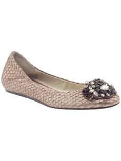 From the Vera Wang Lavender collection, the Landyn is Fall's perfect flat. But with the $295 price tag you might be better off finding the Sam Edleman caper!