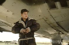 "#SeanAstin as the sometimes vulgar Richard ""Rascal"" Moore. #MemphisBelle"