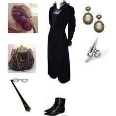 Victorian by amory-eyre on Polyvore featuring Albert Nipon and Juliet & Company